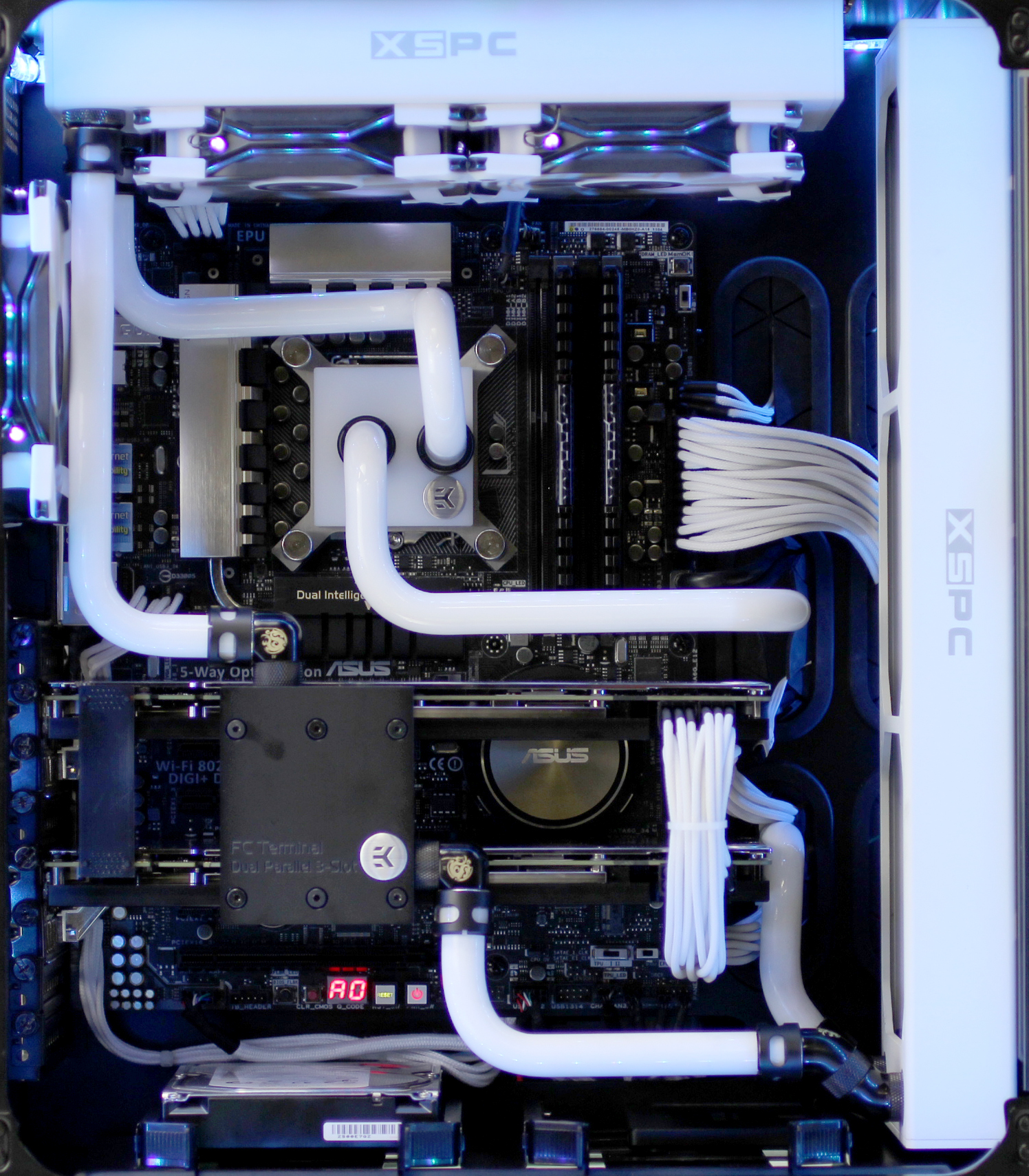avadirect avalanche hardline liquid cooled pc