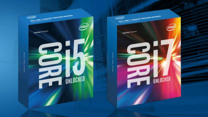 Intel Core i7 vs i5