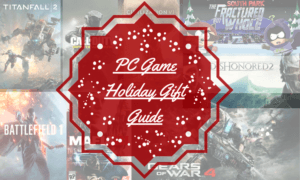 2016 holiday gift guide for gamers games