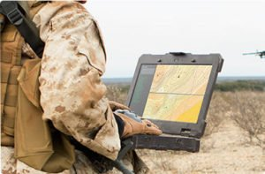 Military using Rugged Laptop