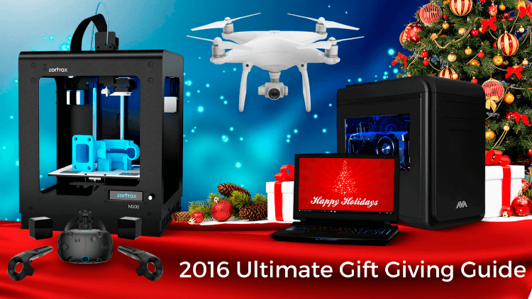 2016 Ultimate Gift Guide for Gamers