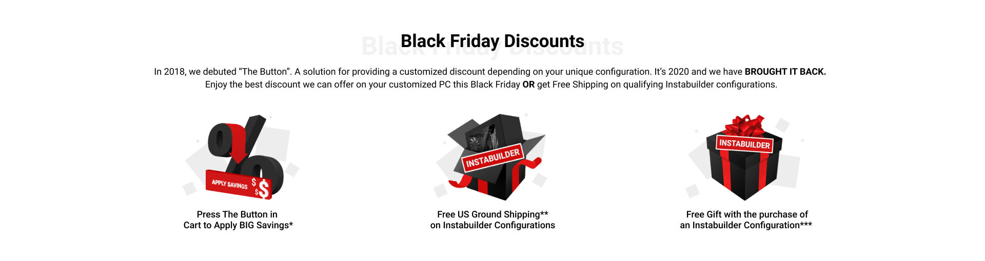 AVADirect Custom Computer Black Friday Deals 2020